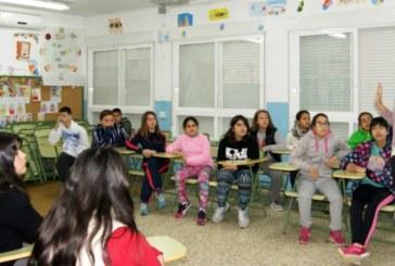 La mancomunidad da a conocer el Proyecto Islantilla 'Innova' a los escolares del CEIP 'Nuestra Sra. del Carmen' de Isla Cristina