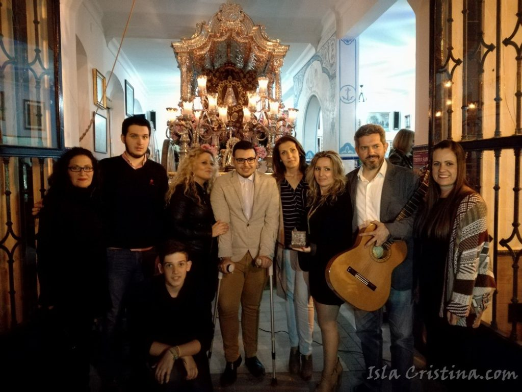 Emotiva Salve de Emilio Jesús López Maestre en la Hermandad del Rocío de Isla Cristina