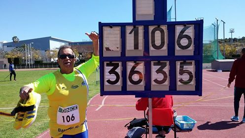 El atleta isleño Toni Palma a la fase final del Campeonato de España