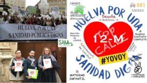 #Huelvaporunasanidaddigna urge al SAS a que concrete el programa de la 'desfusión'