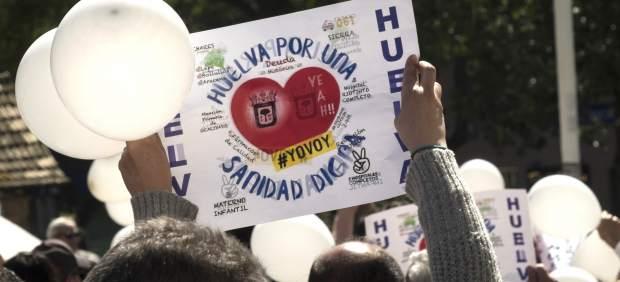 Comunicado de prensa Huelva por una sanidad digna sobre listas de espera