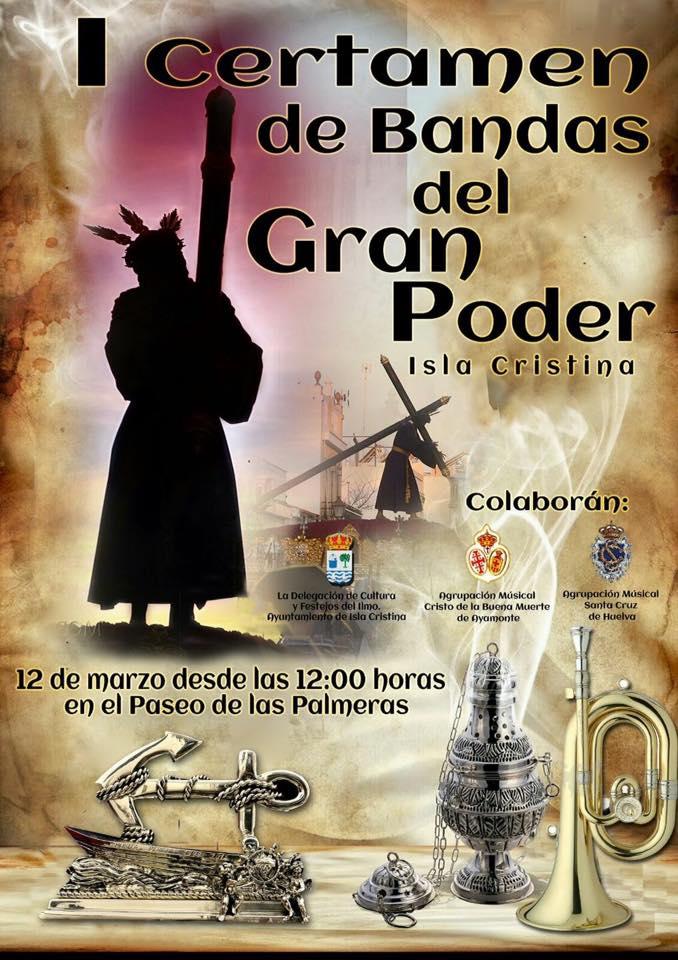 I Certamen de Bandas del Gran Poder en Isla Cristina