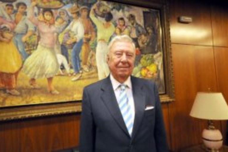 José Luis García Palacios recibe este viernes el I Premio 'Confluencia' del Colegio de Economistas de Huelva Rural del Sur