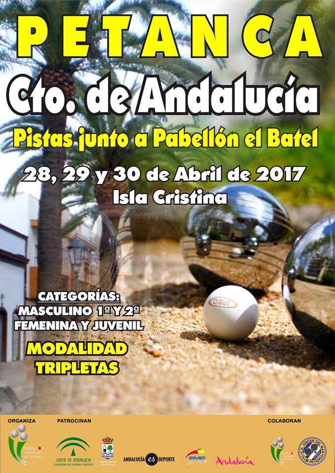 Isla Cristina acoge este fin de semana el Campeonato de Andalucía de Petanca