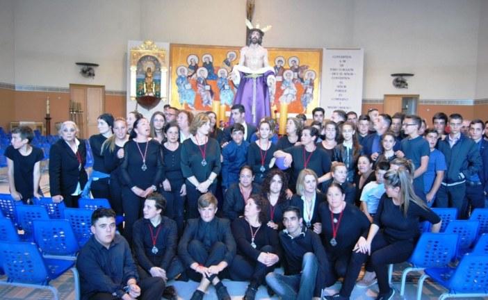 Procesiona por primera vez en Isla Cristina el Cristo de la Humildad