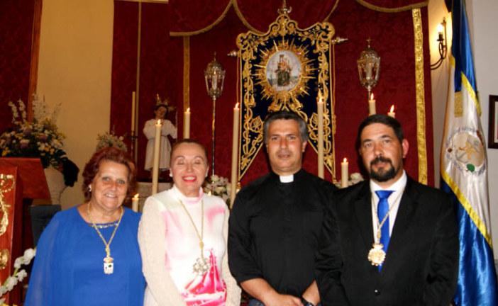 Bendecido el Simpecado y el Retablo de la Hermandad de la Bella de Isla Cristina