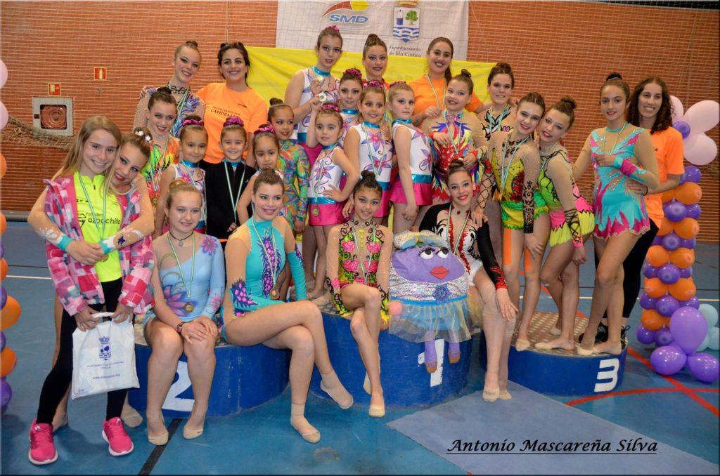 Competitivo fin de semana para el Club de Gimnasia Rítmica la Higuerita