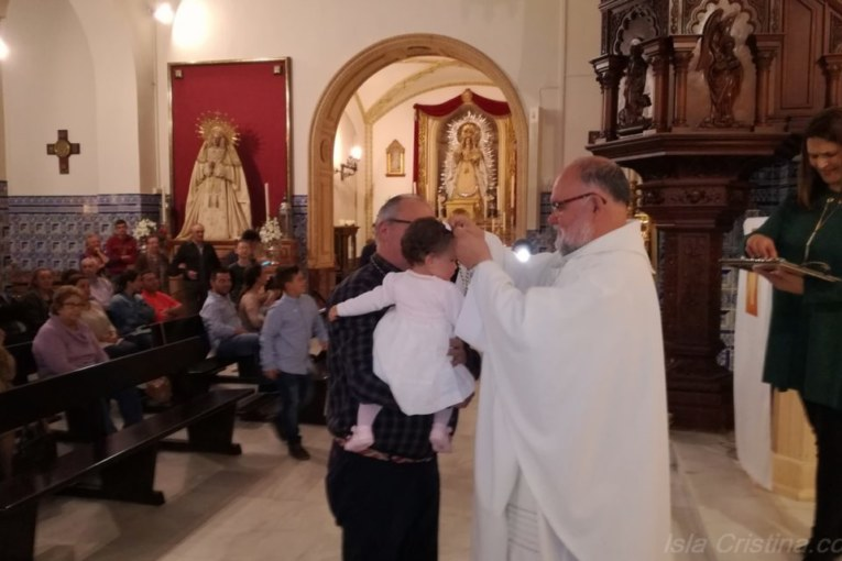 Nuevos Hermanos de la Hermandad del Rocío de Isla Cristina