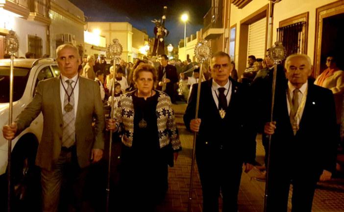 La Hermandad del Gran Poder de Isla Cristina traslada a sus Sagrados Titulares a su Casa de Hermandad