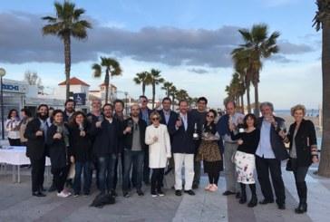 La Academia Andaluza de Gastronomía y Turismo conoce las instalaciones de la lonja de Isla Cristina