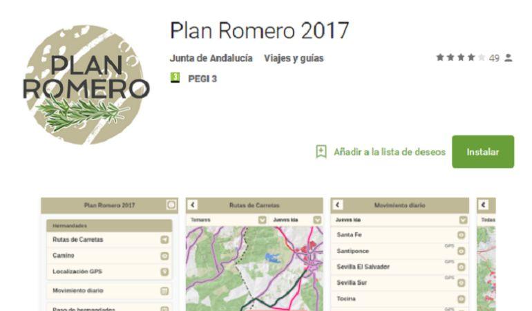 Ya se puede descargar de forma gratuita la app del Plan Romero 2017