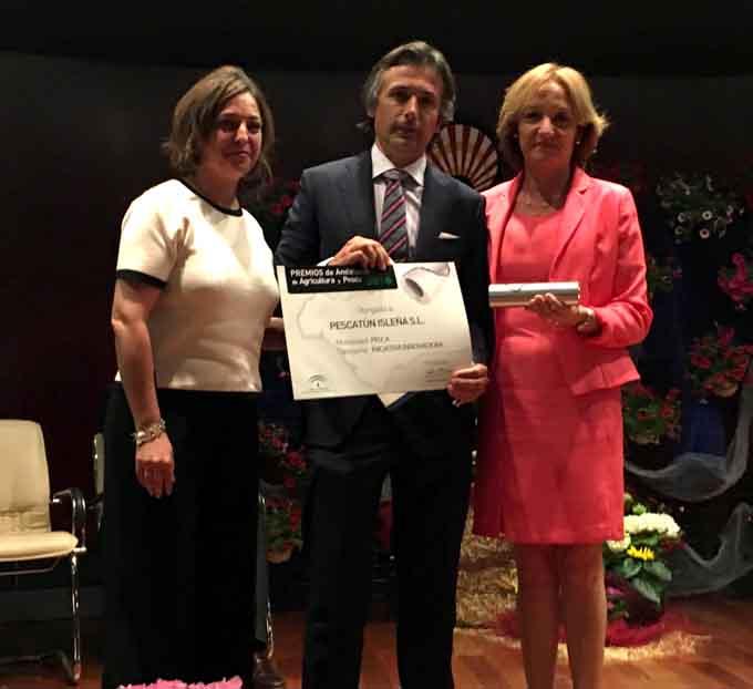 Pescatún Isleña, de Isla Cristina recibe uno de los XII Premios de Agricultura y Pesca