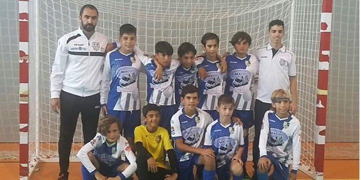 Buen comienzo del benjamín isleño en el Campeonato de Andalucía de fútbol sala