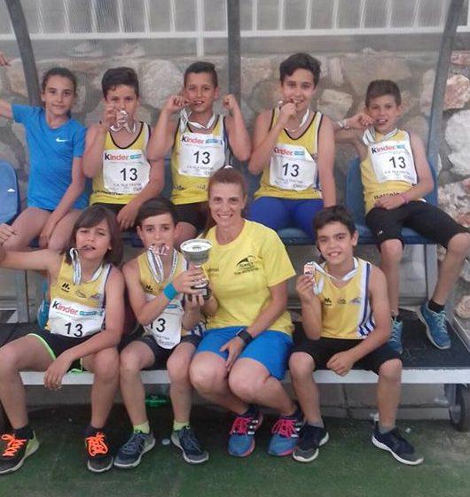 Bronce para los infantiles del Club Atletismo Isla Cristina en el Campeonato de Andalucía