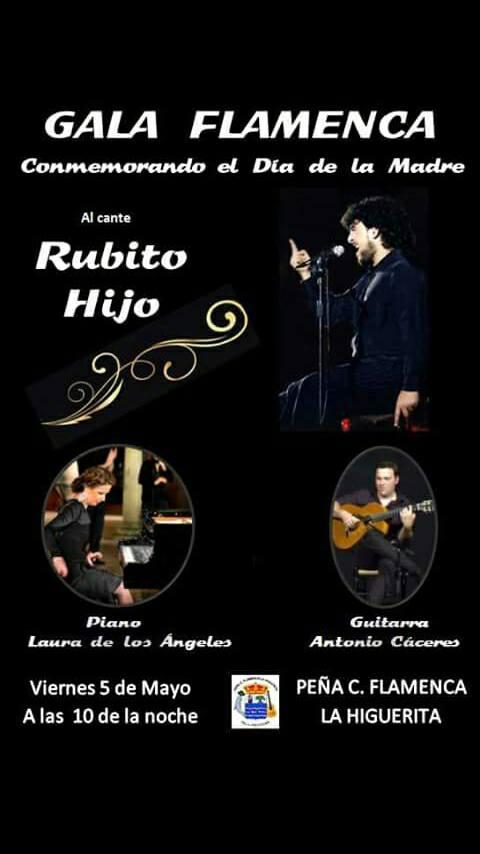 Gala Flamenca en Isla Cristina con motivo de la celebración del 'Día de la Madre'