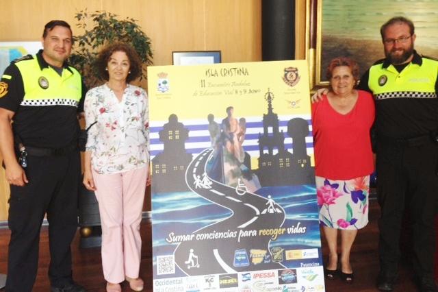 Presentado en Isla Cristina el II Encuentro Andaluz de Educación Vial