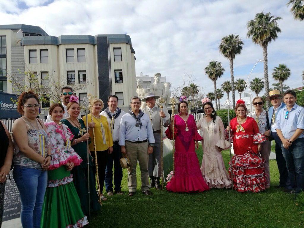 La Hermandad del Rocío de Isla Cristina ya camina haca El Rocío