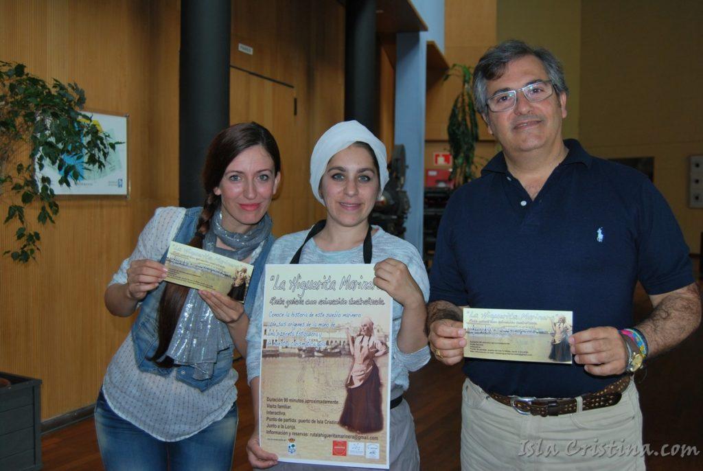 Presentada en Isla Cristina una ruta turística teatralizada