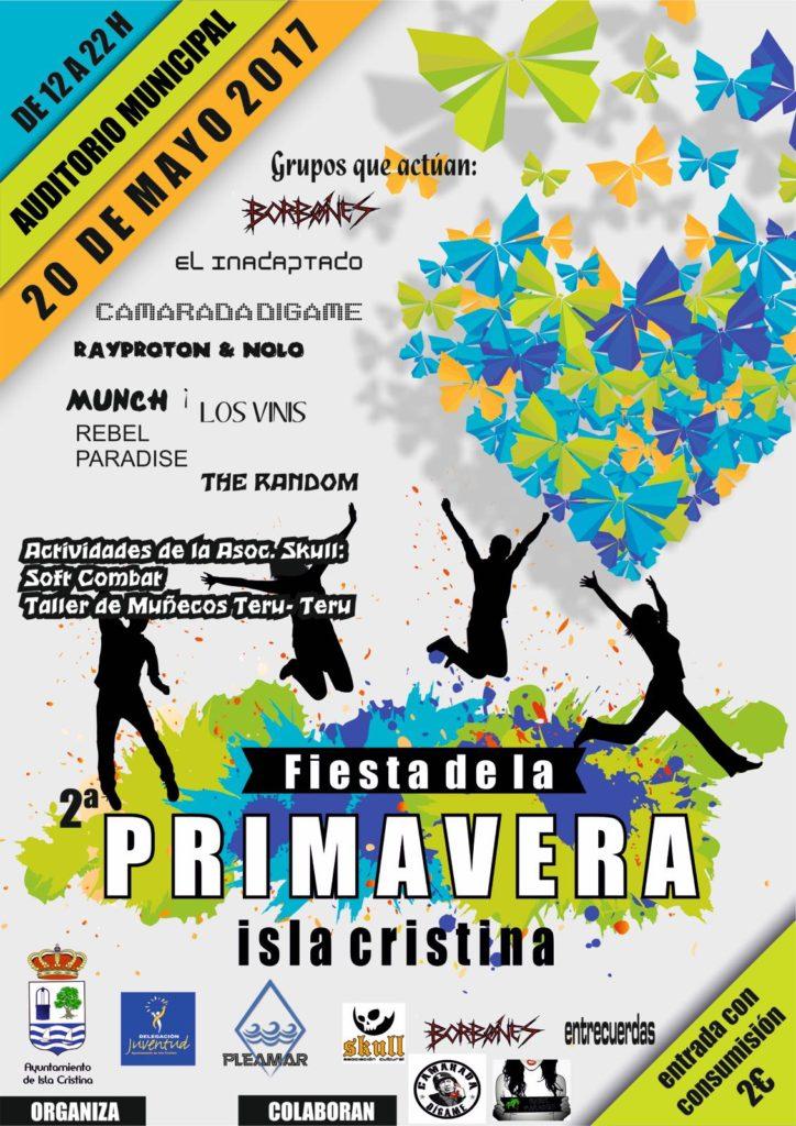Isla Cristina celebra la II Fiesta de la Primavera