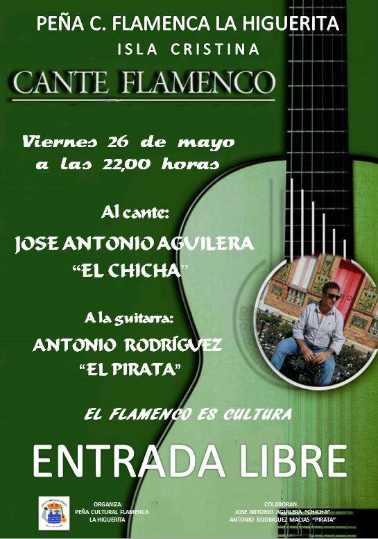 Gala Flamenca de José Antonio Aguilera 'El Chicha', en Isla Cristina