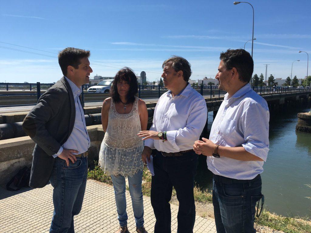 El PP pedirá en el Parlamento que se inicien los nuevos accesos a Isla Cristina