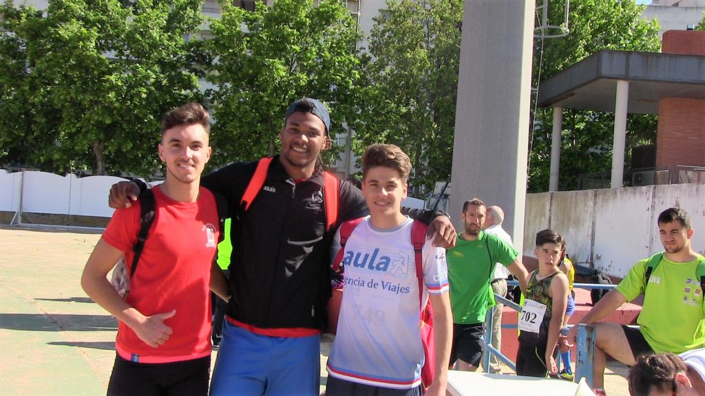 Matantu compite en el Ourense Termal Athletics Meeting