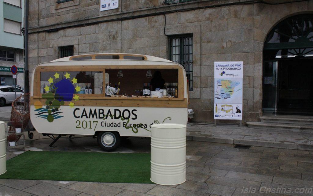 La caravana del vino de Cambados llega este viernes a Isla Cristina