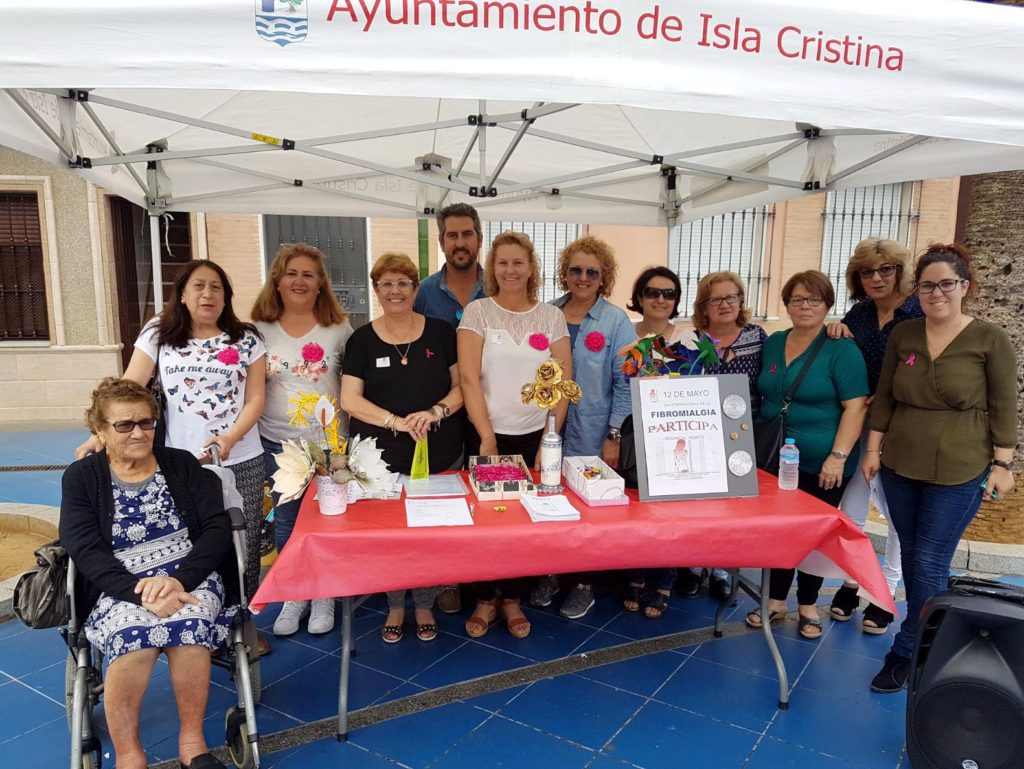 Isla Cristina celebra el Día Mundial de la Fibromialgia