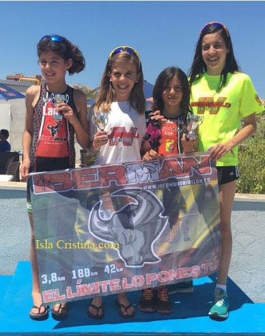 Los clubes onubenses Iberman y Ayamonte destacan en el duatlón andaluz
