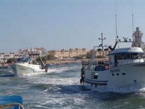 La Junta medirá los fondos marinos de Isla Cristina para el mantenimiento de los calados