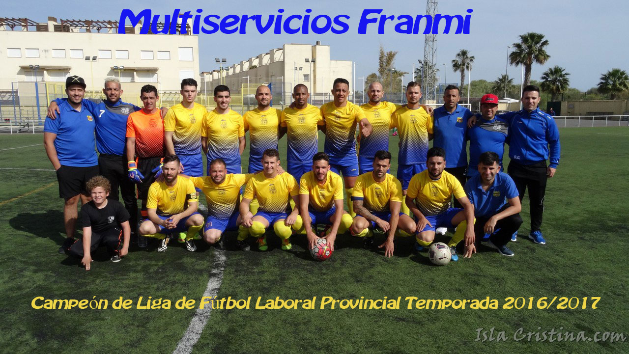 El Multiservicios Franmi Campeón de la Liga Provincial de Fútbol Laboral