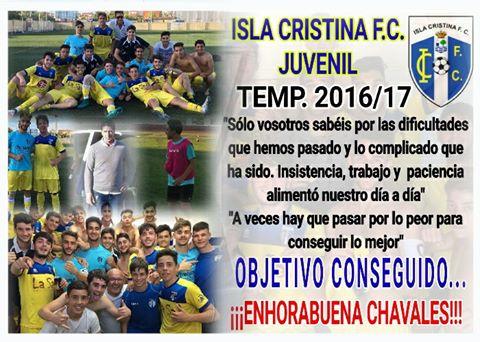 El juvenil del Isla Cristina consigue una heroica permanencia