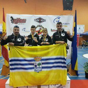 Los Luchadores isleños, Daniel Rodríguez  y Miguel Pérez «Campeones de España»