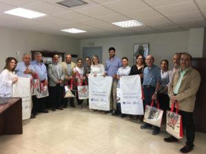 Repartidas 20.000 bolsas entre las hermandades del Rocío para la recogida de los residuos
