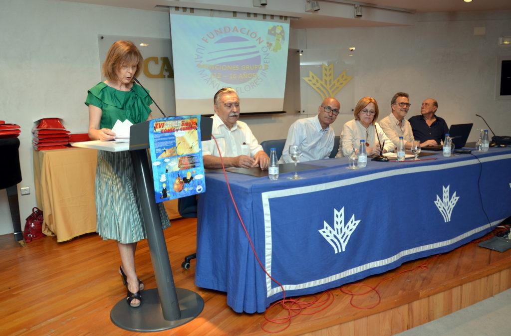 Este lunes se entregan en el Centro Cultural de Caja Rural del Sur los premios de XVII Concurso Nacional de Comic, Dibujo, Pintura y Cuento