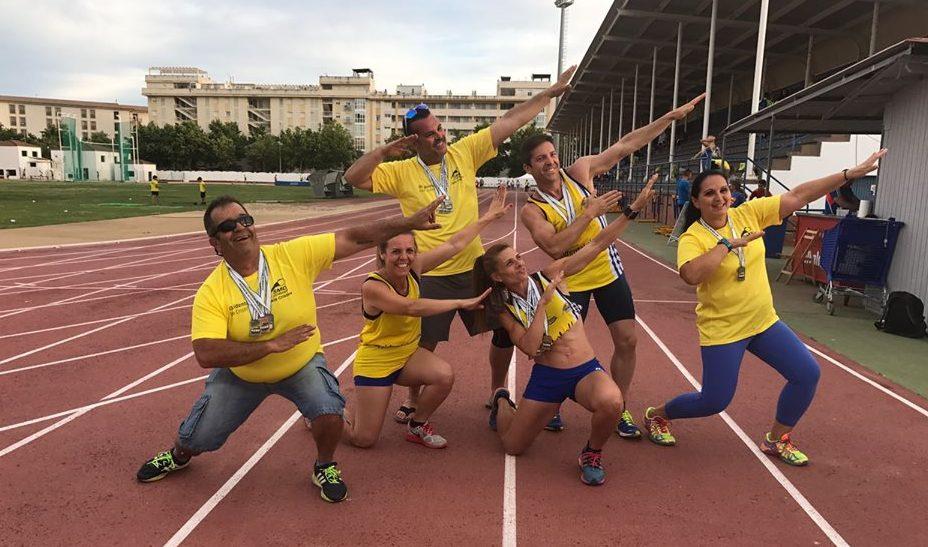 El C.A. Isla Cristina se sitúa en la élite del atletismo andaluz de veteranos