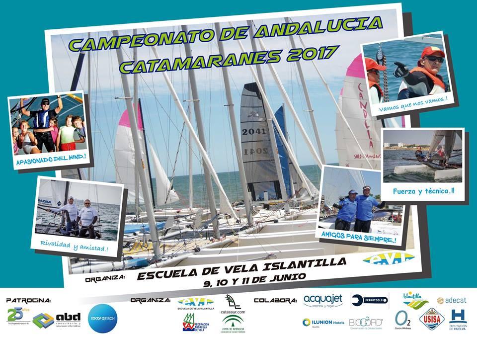 Campeonato de Andalucía de Catamaranes 2017 en Islantilla