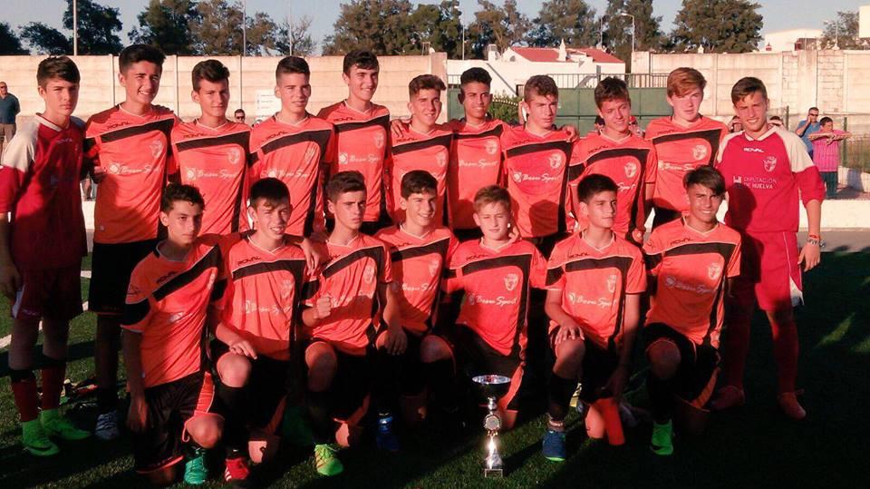 La Selección Infantil onubense de fútbol, Campeón del Torneio Olhão da Restauraçao «Portugal»