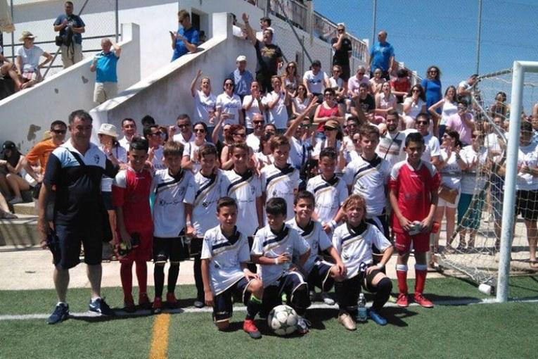 La Selección Benjamín onubense arranca con victorias el Campeonato de Andalucía