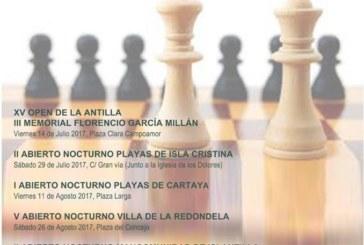 """Abierto el plazo de inscripciones para el """"II Circuito Nocturno Ajedrez en la Playa"""""""
