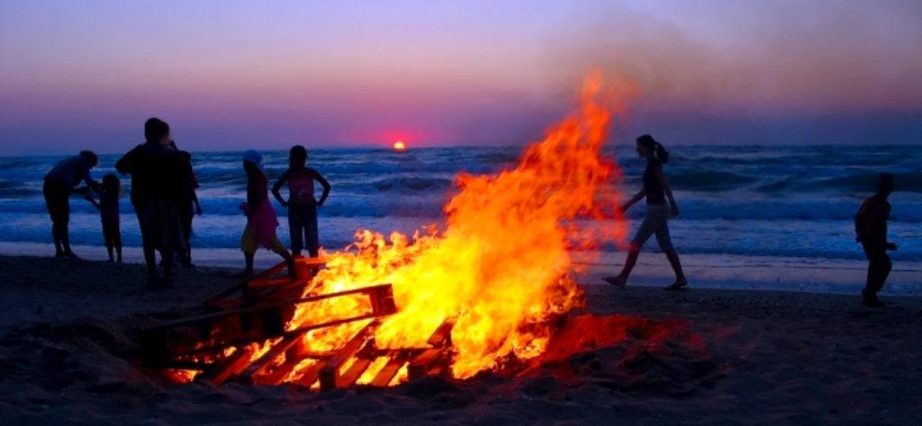 Cuidado con el Fuego y las Drogas en la Noche de San Juan