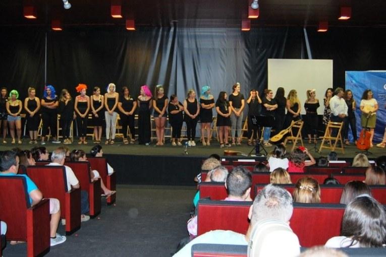 Se clausura el curso de la Escuela Municipal de Carnaval de Isla Cristina