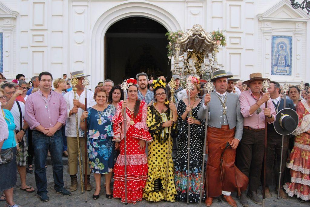 Los romeros isleños llegaron a Isla Cristina
