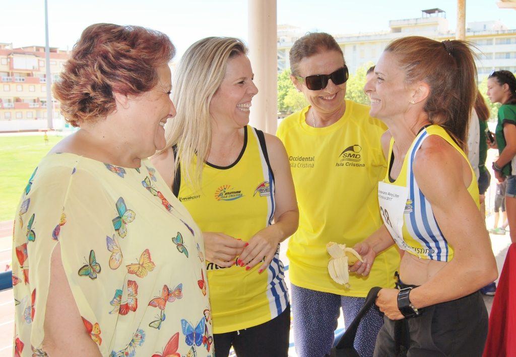 Celebrado en Isla Cristina el Campeonato Andaluz de Atletismo Senior