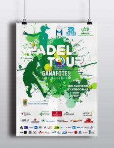 Palos de la Frontera acogerá en julio la primera edición de la 'Pádel Tour Gañafote'
