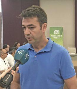 """Joaquín Bellido, coordinador nacional de AxSí: """"Con la ambigüedad del PSOE, Andalucía va a la deriva"""""""