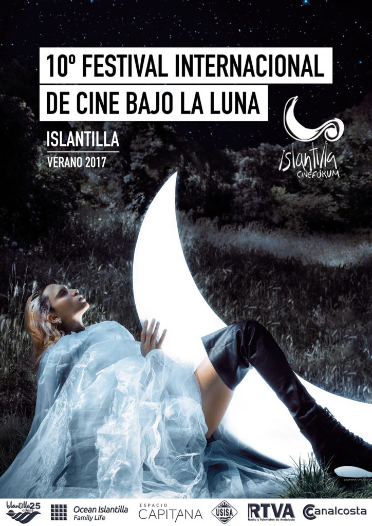 El Festival de Cine Bajo la Luna de Islantilla da a Conocer el Cartel Anunciador de su Décima Edición