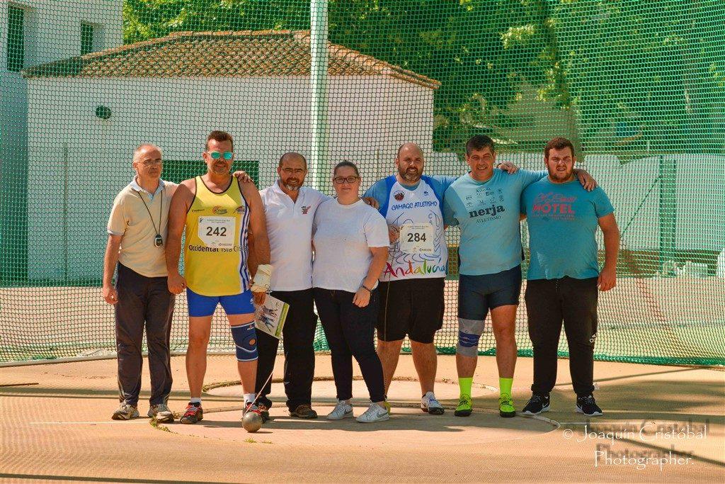 Imágenes del Campeonato de Andalucía Veteranos celebrado en Isla Cristina