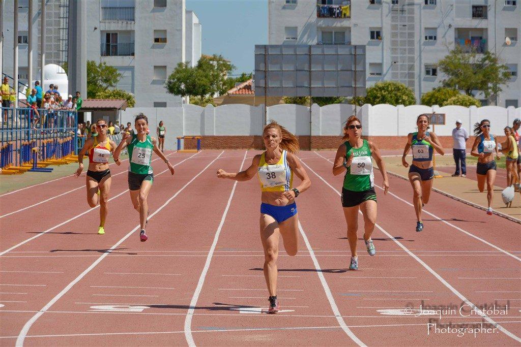 La atleta del C.A. Isla Cristina Elena Cobos, a por las medallas del LII Campeonato de España de Veteranos