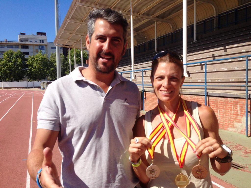 La isleña Elena Cobos, Campeona de España en 400 metros lisos
